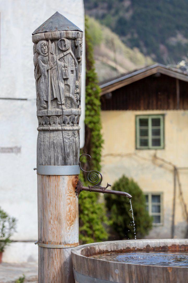 Dorfbrunnen in Kortsch