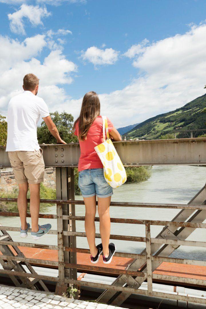 Etschbrücke in Laas