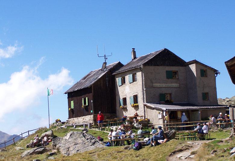 Weißkugelhütte, 2544 m