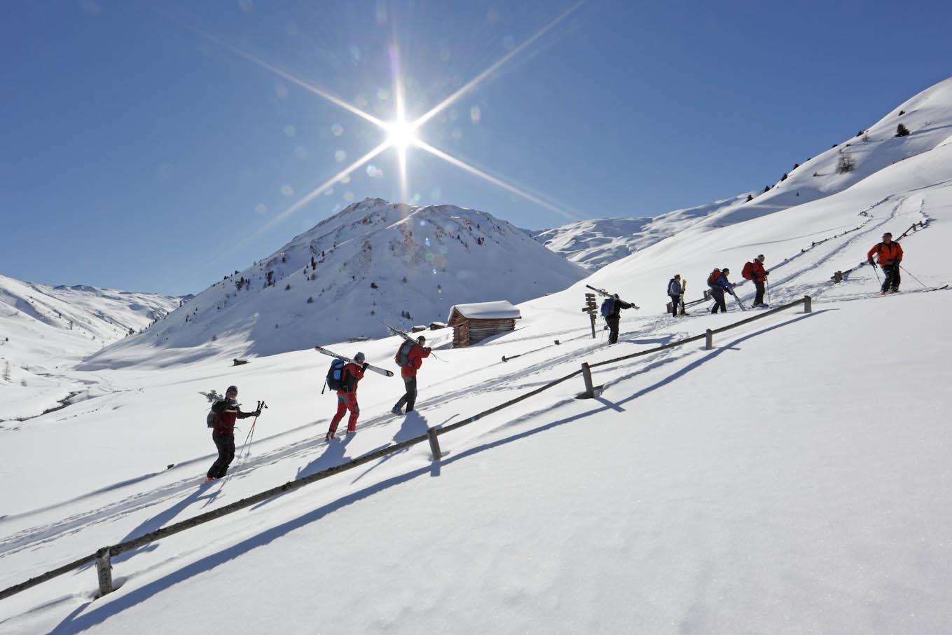 Skitour Reschenpass