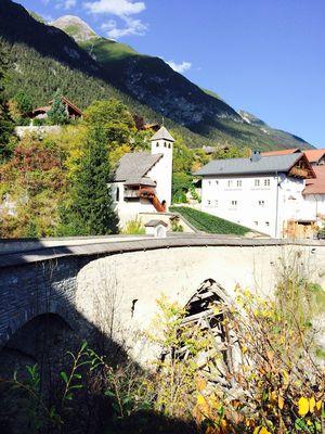 Römerbrücke Floriankapelle Grins