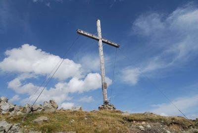 Venet Gipfelkreuz Glanderspitze