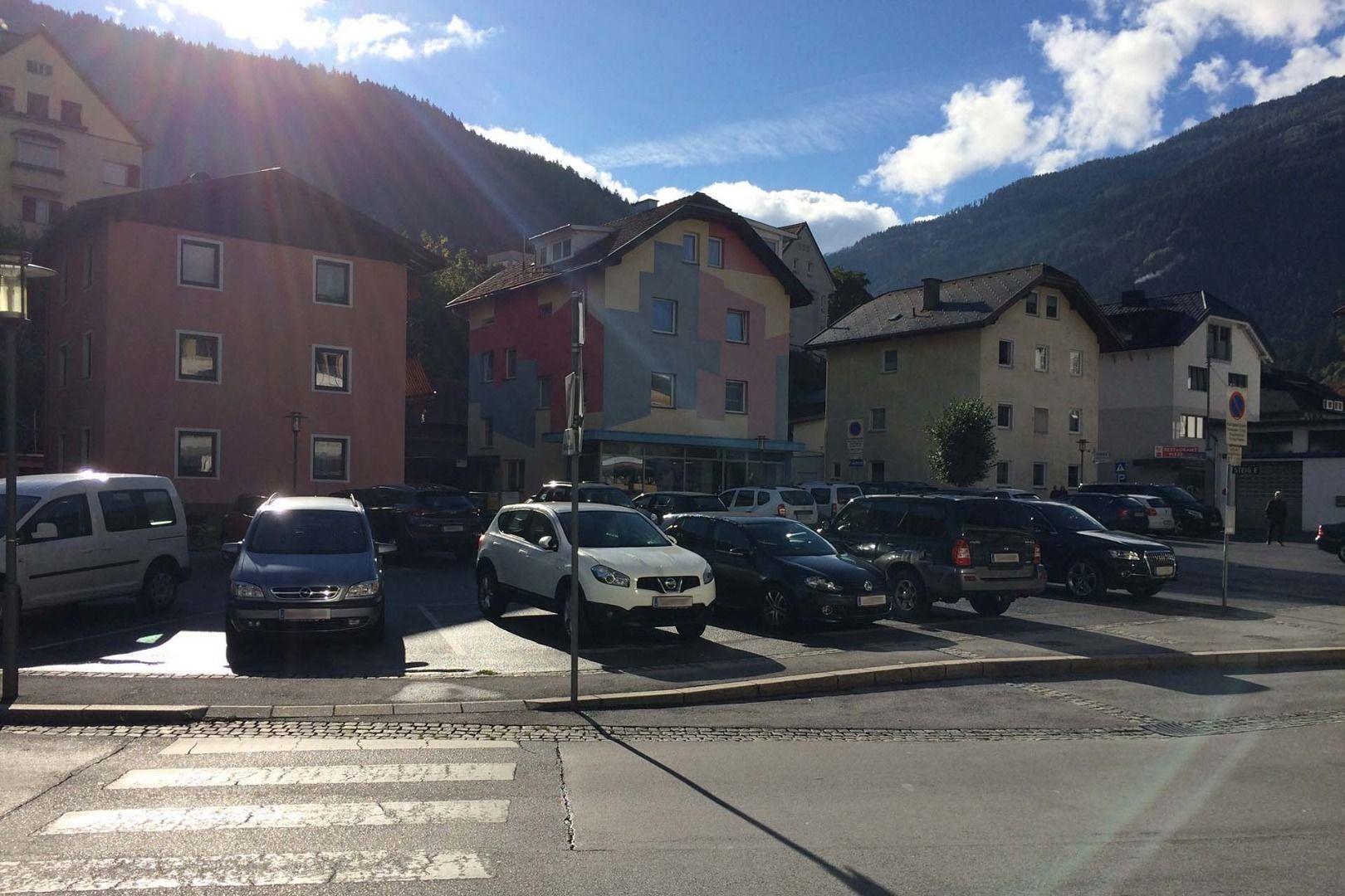 Parkplatz Busterminal