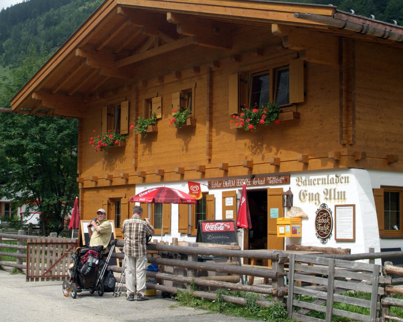 Bauernladen Eng Alm