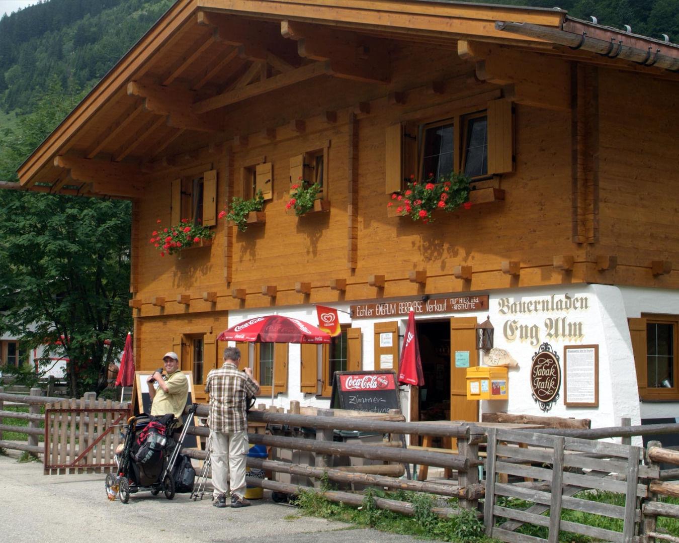 Farm shop Eng Alm