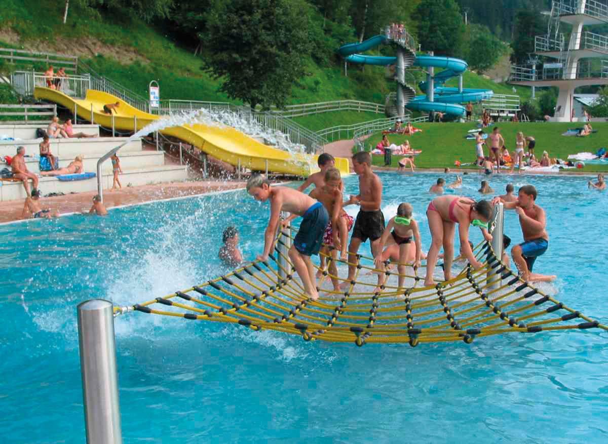 Schwimmbad Freibad Schwaz