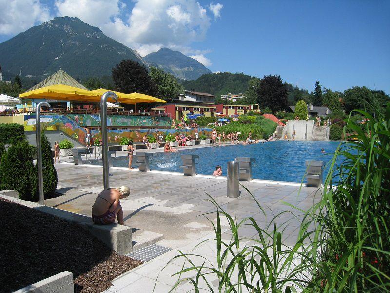 Schwimmbad Terrassenbad Jenbach
