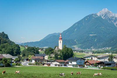 Sommer in Buch in Tirol