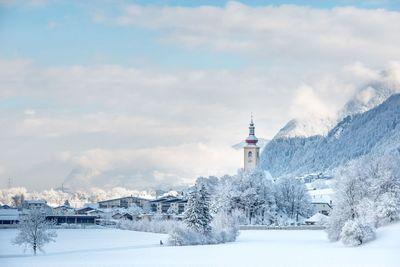 Winter in Buch in Tyrol