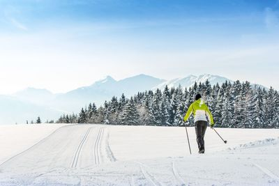 Langlaufen am Vomperberg