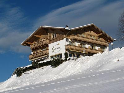 Pension Steiner in winter