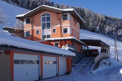 Ferienhaus Sonnenwinkel im Winter