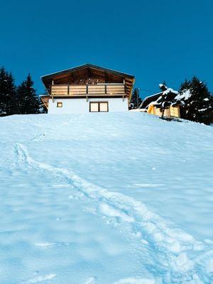 Berghütte Jenewein in winter