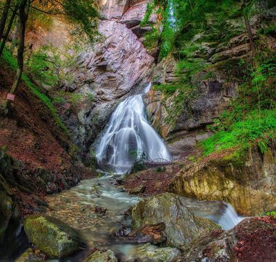 Waterfall in Buch