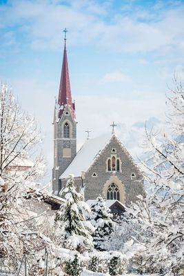 Pfarrkirche Stans im Winter