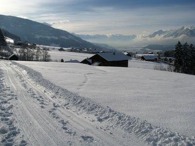 Winterwanderweg ab Vitalhof Tunelhof