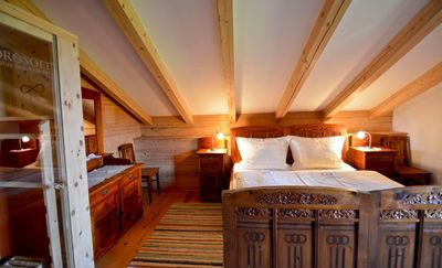 Flat Lavendel sleeping room